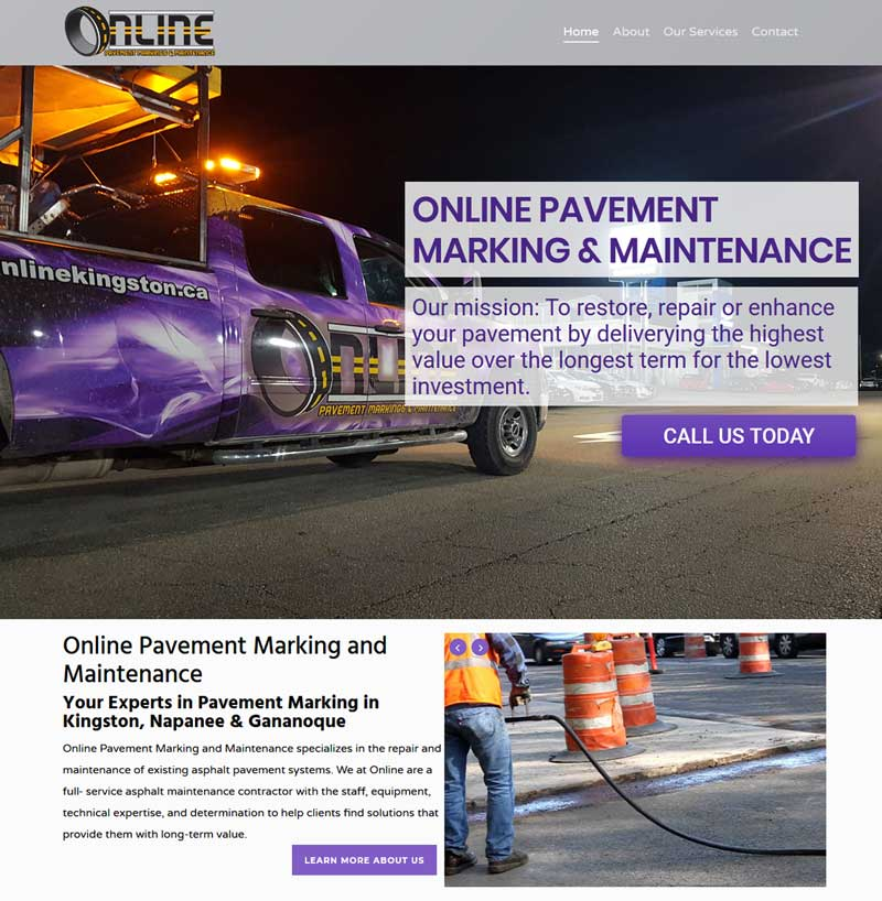 Online Pavement Markingst & Maintenance
